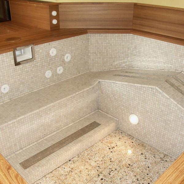 posa bagno turco wellness