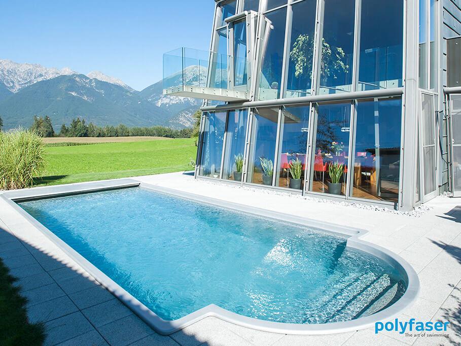polyfaser rivenditori piscine prefabbricate clever piscine