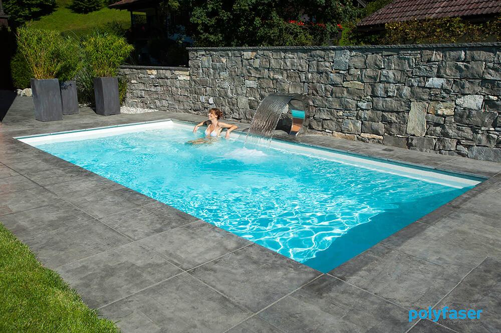 Polyfaser rivenditori piscine prefabbricate clever piscine for Piscine creuse
