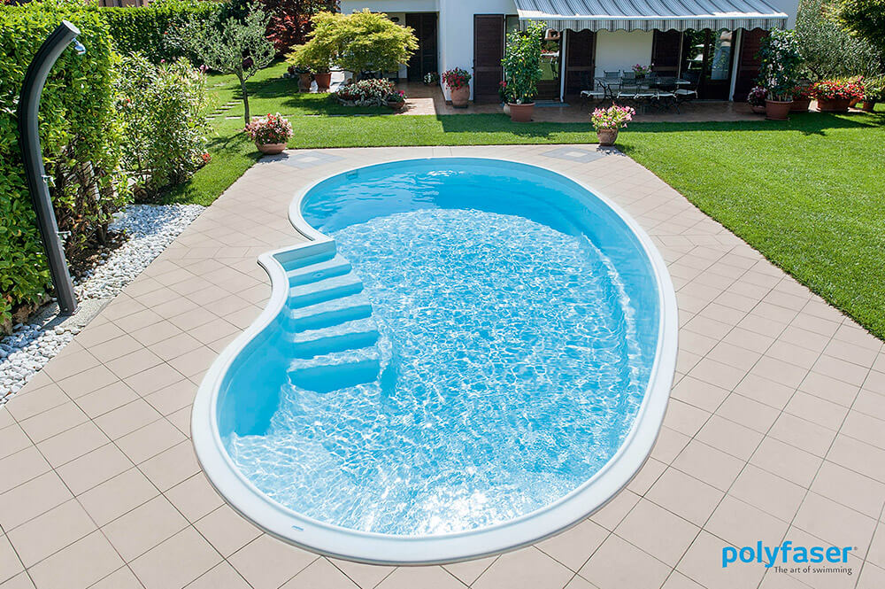 Polyfaser rivenditori piscine prefabbricate clever piscine - Piscina vetroresina ...