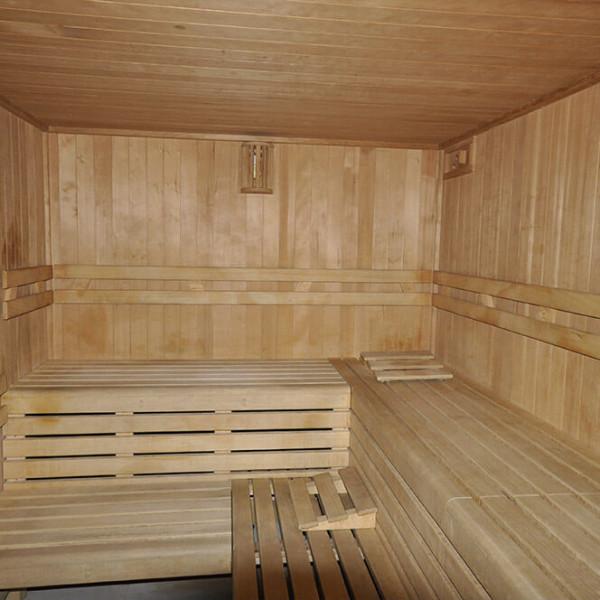 installazione sauna area benessere